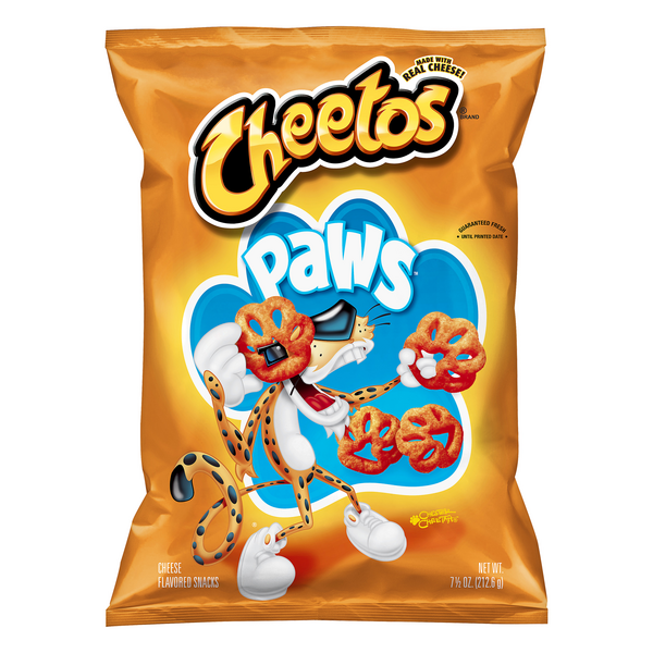 Cheetos Paws Cheese Flavored Snack