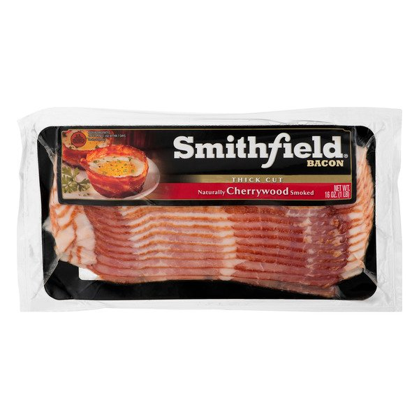 Smithfield Bacon Cherrywood Smoked Thick Cut