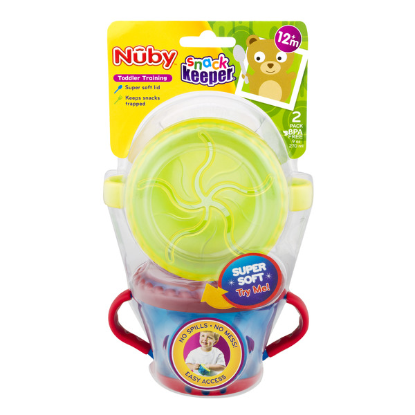 Nuby Snack Keeper (Colors May Vary)