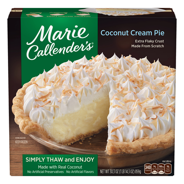 Marie Callender's Pie Coconut Cream