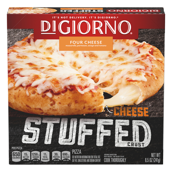DiGiorno Cheese Stuffed Crust Pizza Four Cheese
