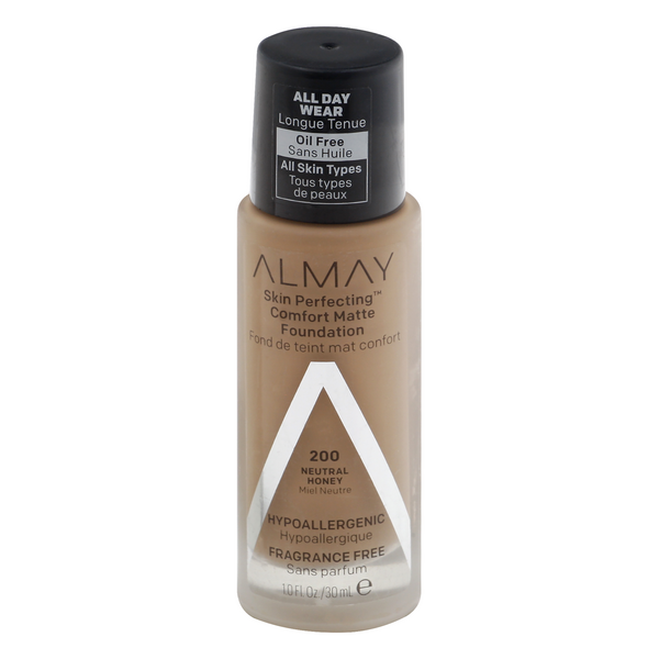 Almay Skin Perfecting Comfort Matte Foundation Neutral Honey 200