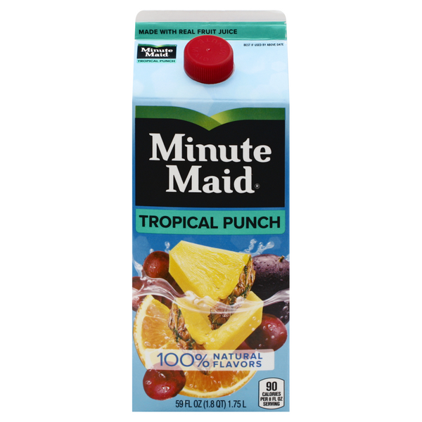 Minute Maid Tropical Punch 100% Natural