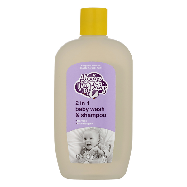 Always My Baby 2 in 1 Baby Wash & Shampoo