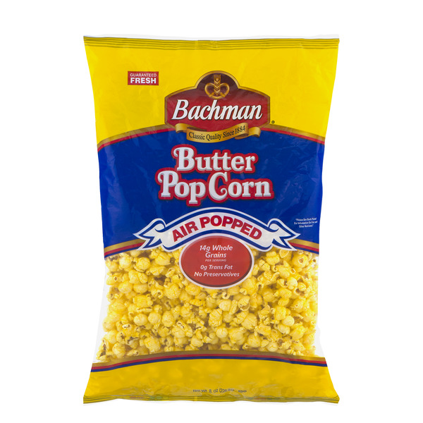 Bachman Popcorn Air Popped Butter