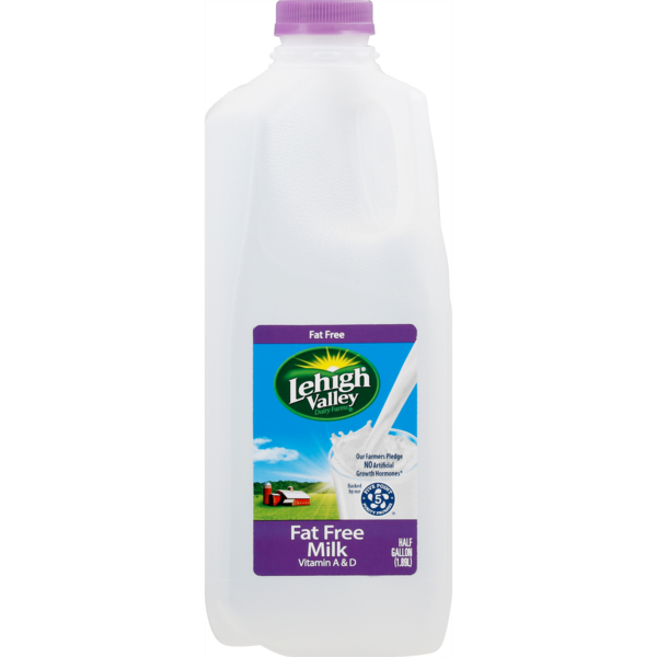 Lehigh Valley Dairy Pure Fat Free Milk