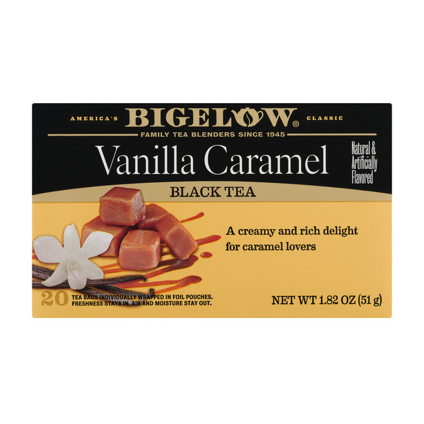 Bigelow Vanilla Caramel Black Tea Bags