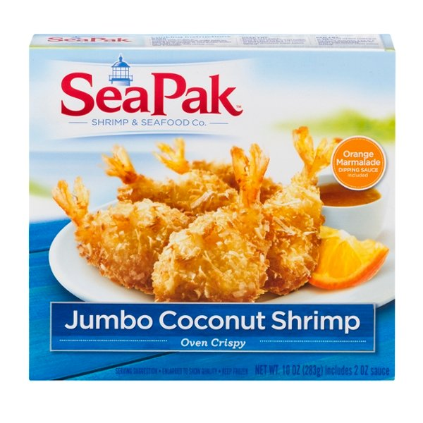 SeaPak Coconut Shrimp Jumbo Frozen