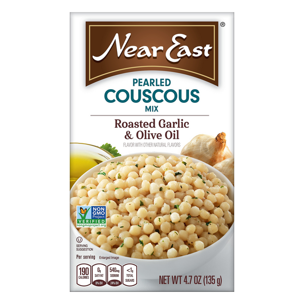 Near East Pearled Couscous Mix Roasted Garlic & Olive Oil