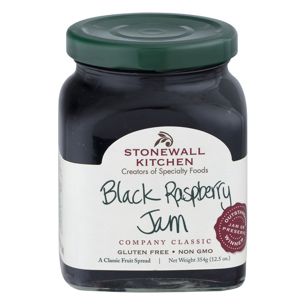 Stonewall Kitchen Jam Black Raspberry All Natural Gluten Free