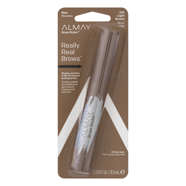 Almay Brow Styler Really Real Brows Light Brown 010