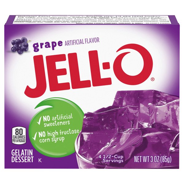 Jell-O Gelatin Dessert Grape