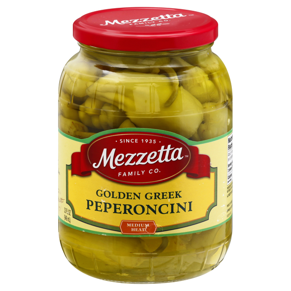 Mezzetta Peperoncini Golden Greek Medium Heat