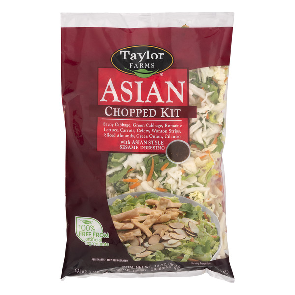 Taylor Farms Asian Chopped Kit with Asian Style Sesame Dressing