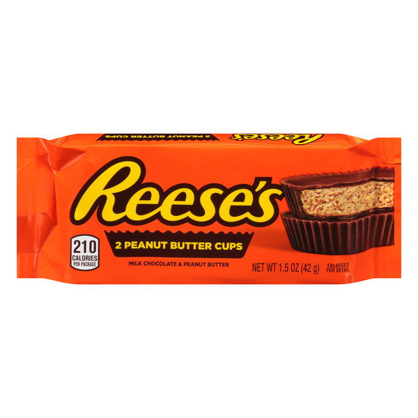 Reese's Peanut Butter Cups - 2 ct