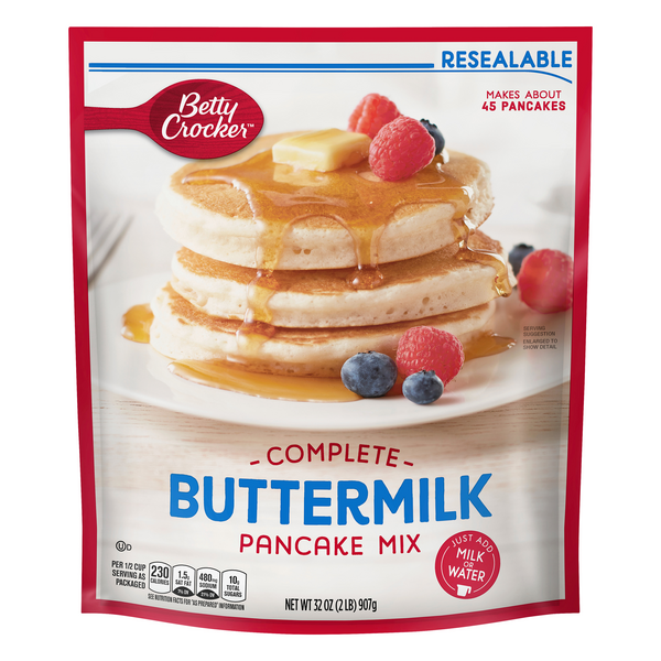 Betty Crocker Complete Pancake Mix Buttermilk