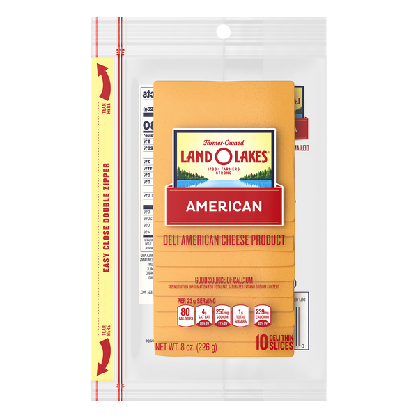 Land O Lakes Deli American Cheese Product Yellow (Pre-Sliced)