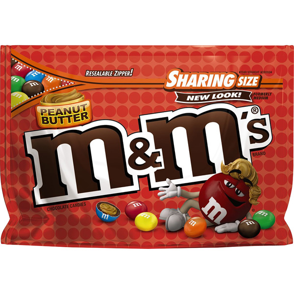 M&M's Peanut Butter Chocolate Candies Sharing Size