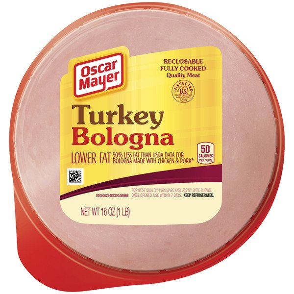 Oscar Mayer Turkey Bologna Lower Fat