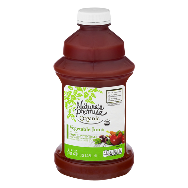 Nature's Promise Organic Vegetable Juice