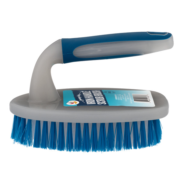GIANT Heavy Duty Iron Handle Scrub Brush