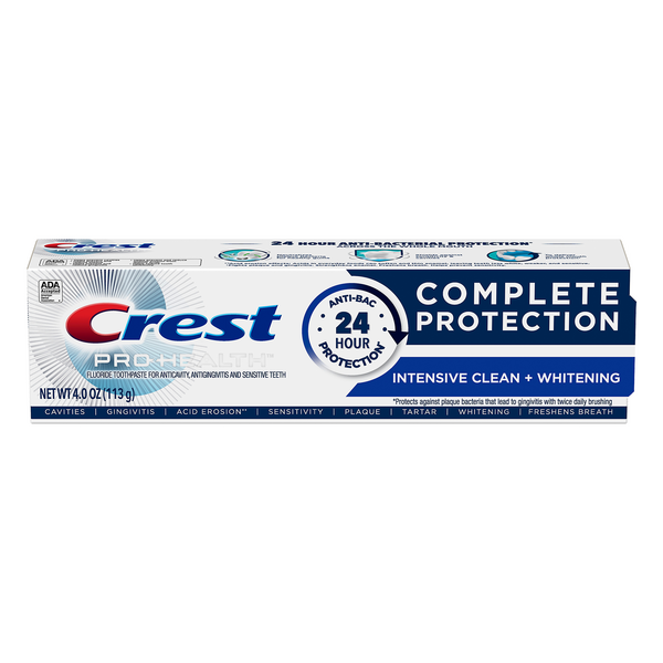 Crest Pro-Health PRO Active Defense Toothpaste Intensive Clean + Whitening