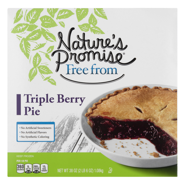 Nature's Promise Free from Triple Berry Pie Frozen
