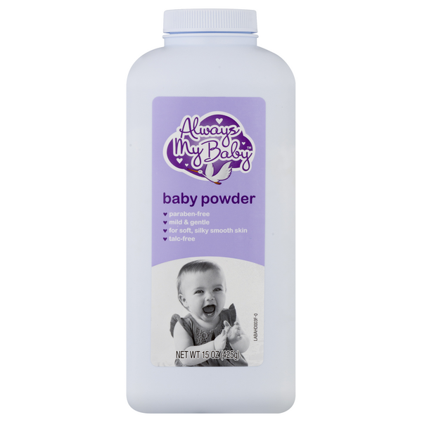 Always My Baby Baby Powder