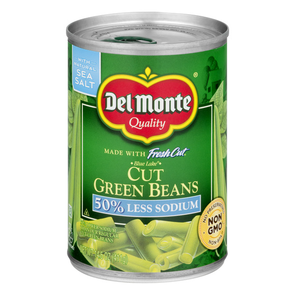 Del Monte Fresh Cut Green Beans Cut Low Sodium
