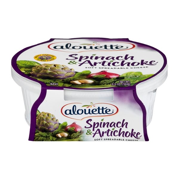 Alouette Spreadable Cheese Spinach & Artichoke