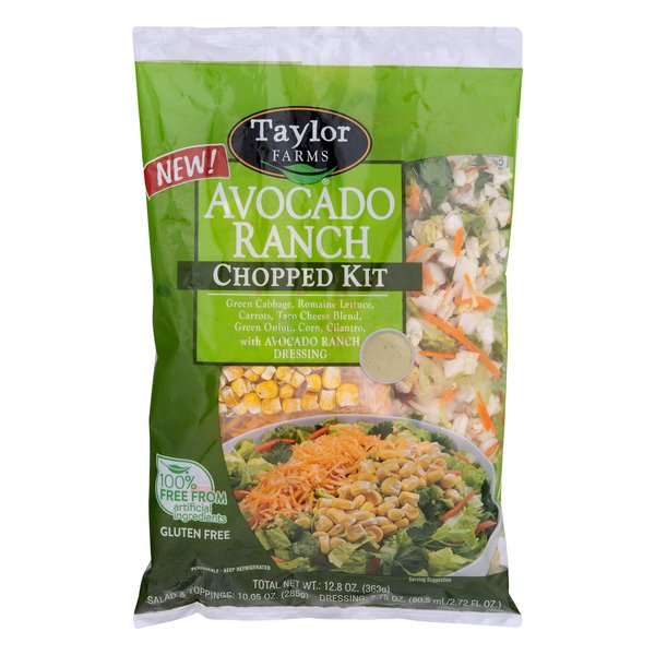 Taylor Farms Chopped Salad Kit Avocado Ranch