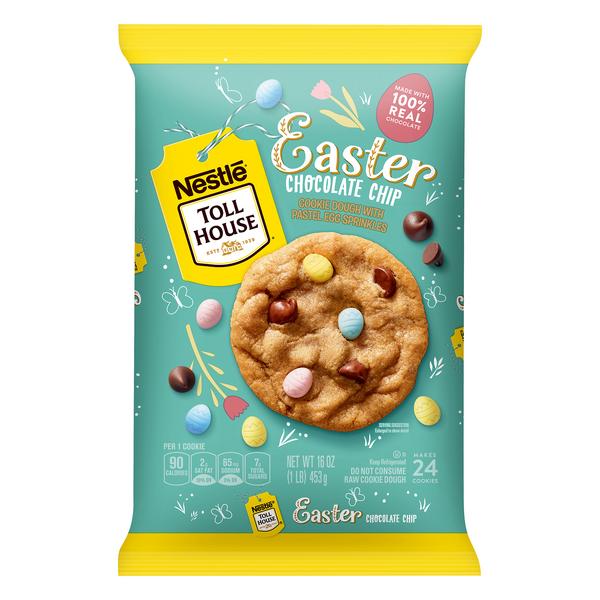 Nestle Toll House Cookie Dough Chocolate Chip Easter