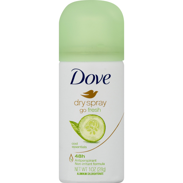 Dove Women's 48h Anti-Perspirant Cool Essentials Dry Spray