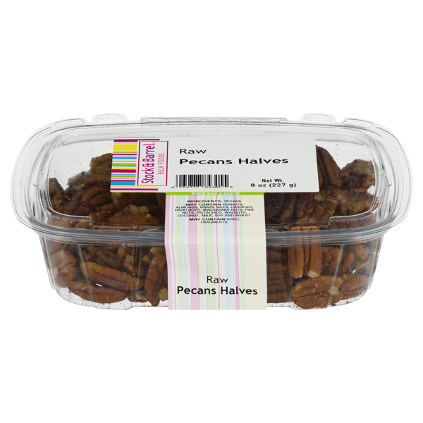 Stock & Barrel Raw Pecans Halves