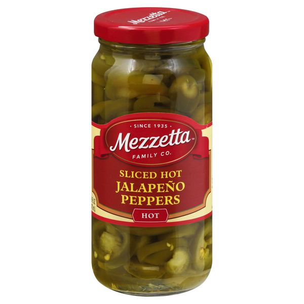 Mezzetta Jalapeno Peppers Sliced Hot