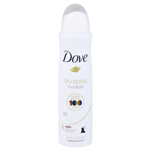 Dove Women's Invisible 48 Hr Anti-Perspirant Clear Finish Dry Spray
