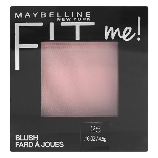 Maybelline Fit me! Blush Pink Rose 25
