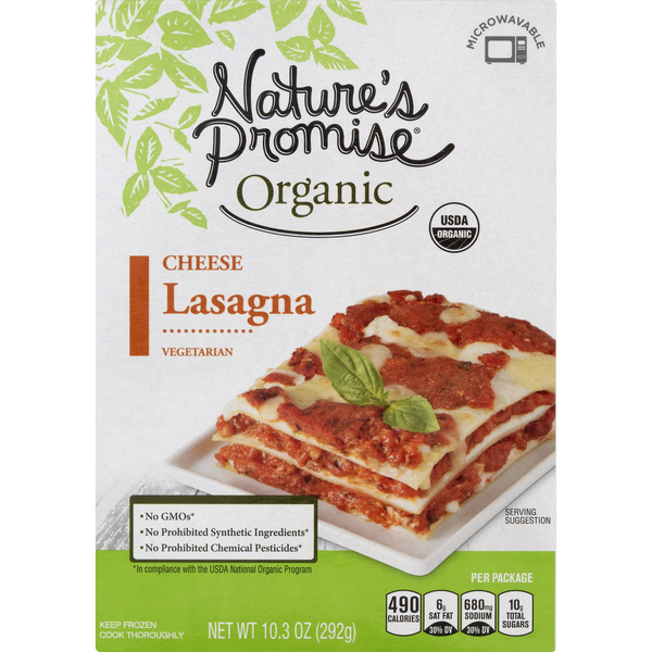 Nature's Promise Organic Lasagna Cheese