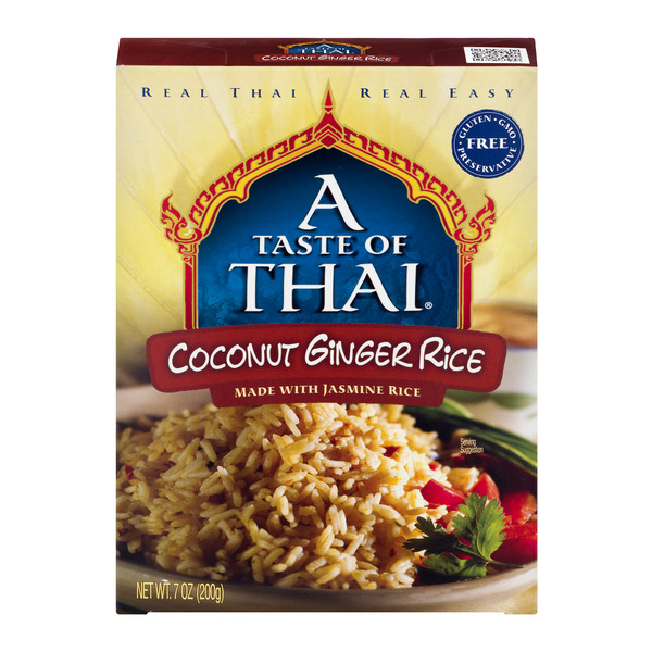 A Taste of Thai Coconut Ginger Rice Made with Jasmine Rice