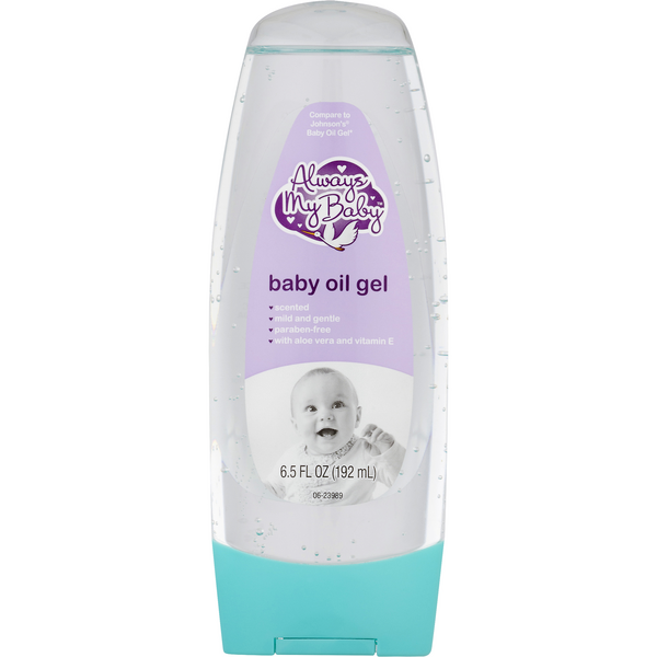 Always My Baby Baby Oil Gel