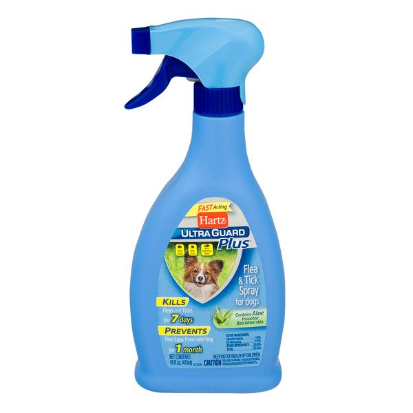 Hartz UltraGuard Plus Flea & Tick Spray for Dogs
