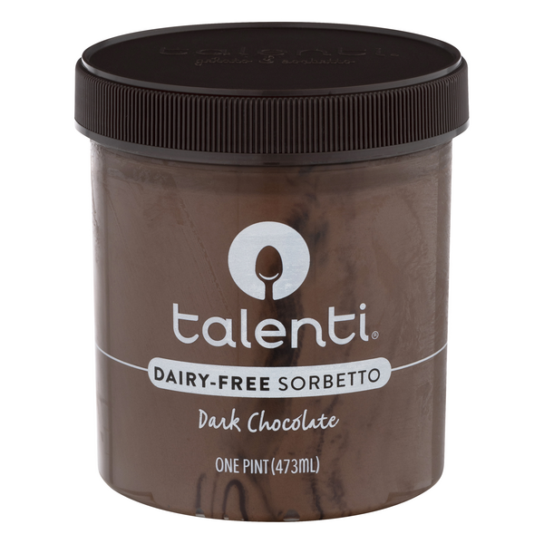 Talenti Sorbetto Dairy Free Dark Chocolate