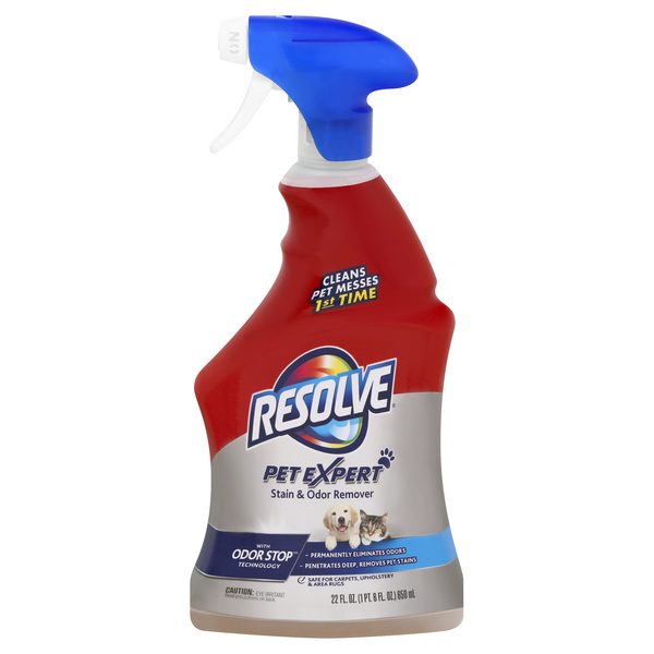 Resolve Pet Expert Carpet Stain Remover Trigger Spray