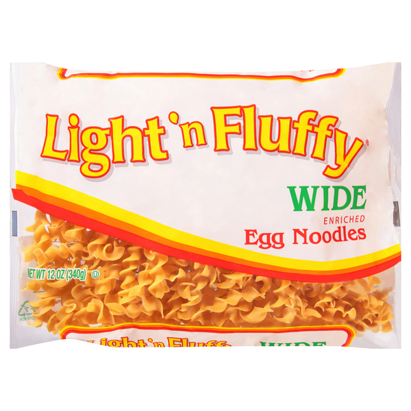 Light 'n Fluffy Egg Noodles Wide