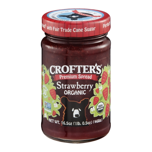 Crofter's Premium Spread Strawberry Organic