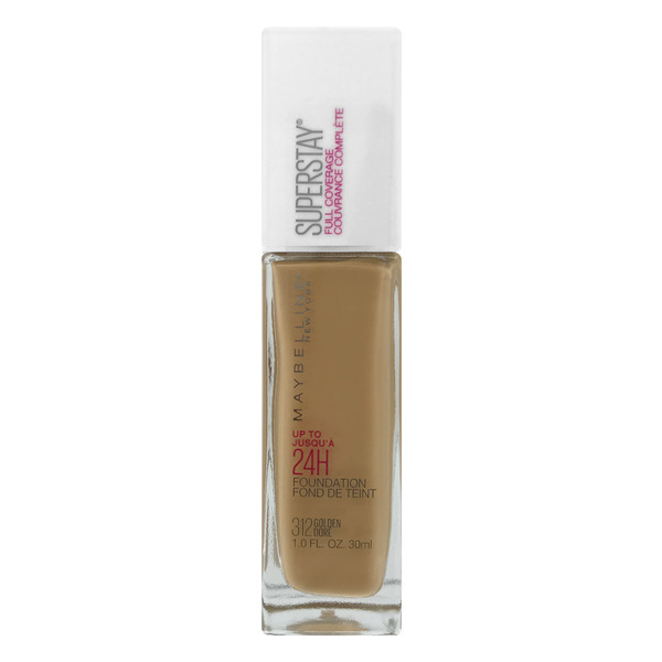 Maybelline SuperStay Foundation Golden Dore 312