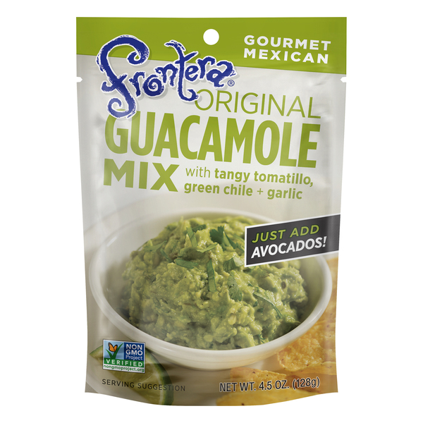 Frontera Guacamole Mix with Tangy Tomatillo Green Chile + Garlic