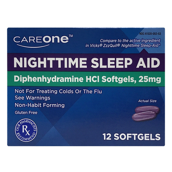 CareOne Nighttime Sleep Aid