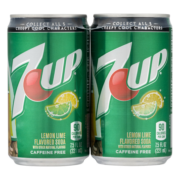7-UP Soda Lemon Lime - 6 pk