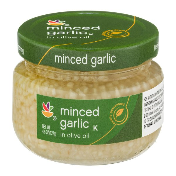 MARTIN'S Minced Garlic in Olive Oil